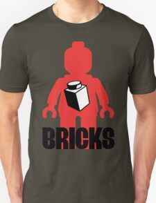 Minifig with Brick, Customize My Minifig T-Shirt