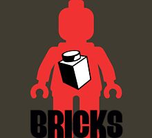 Minifig with Brick, Customize My Minifig Unisex T-Shirt