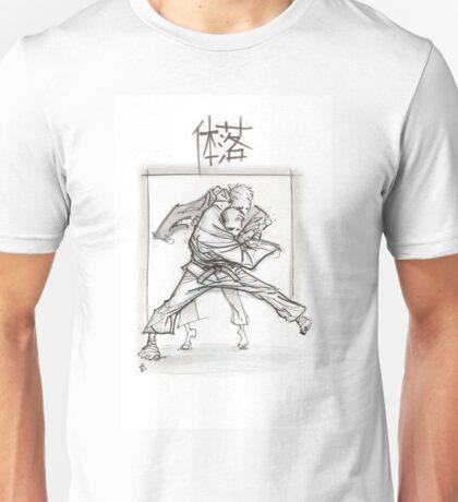 TAI OTOSHI WHITE Unisex T-Shirt