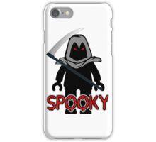 Spooky Grim Reaper Minifig, 'Customize My Minifig' iPhone Case/Skin