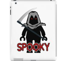 Spooky Grim Reaper Minifig, 'Customize My Minifig' iPad Case/Skin