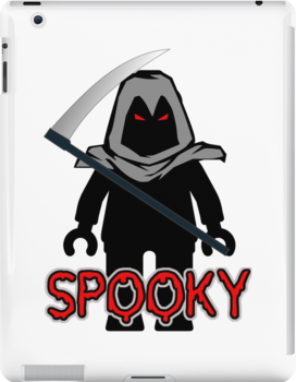 Spooky Grim Reaper Minifig, 'Customize My Minifig' by Customize My Minifig