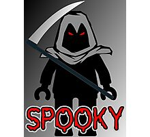 Spooky Grim Reaper Minifig, 'Customize My Minifig' Photographic Print