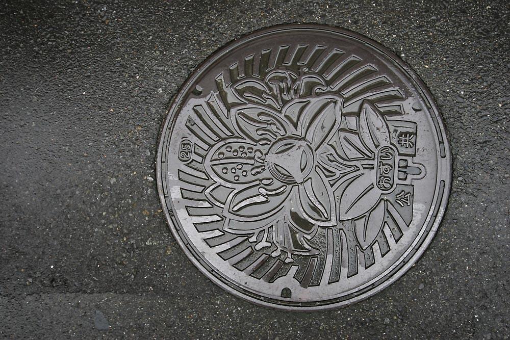 Manhole cover - Tokushima by Trishy