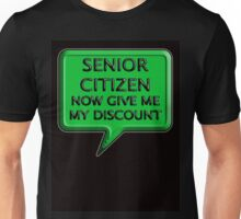 Senior Citizen Unisex T-Shirt