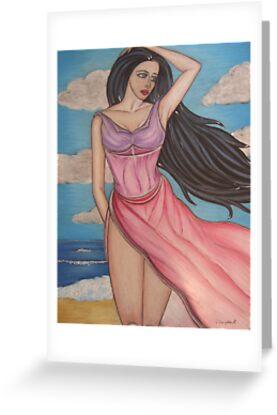 Aphrodite - Goddess of Love by vivianne