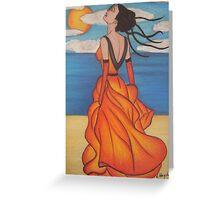 The Beach 3 Greeting Card