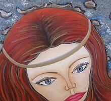 Celtic Face by vivianne