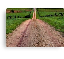 """May The Road Rise To Meet You"" Canvas Print"