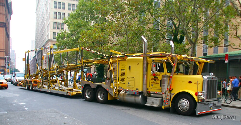 Big Yellow Truck by MayDerry
