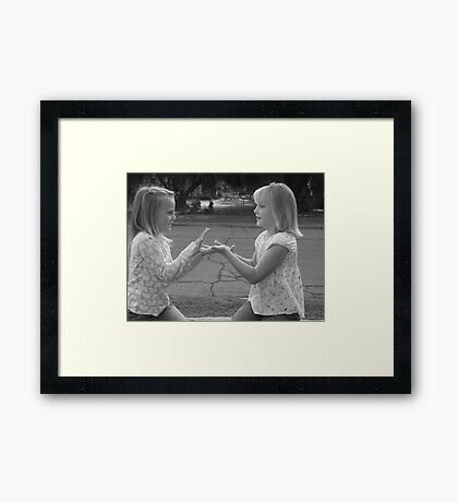 young again Framed Print