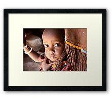 SAMBURU CHILD Framed Print