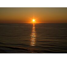 Ocean Sunrise Photographic Print