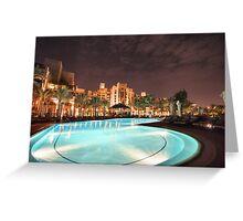 Dubaï Greeting Card