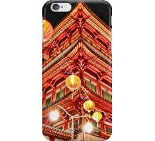 Buddhist Temple in Chinatown, Singapore iPhone Case/Skin