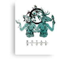 Royal Blood Canvas Print