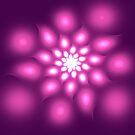 A fractal flower by 4Flexiway