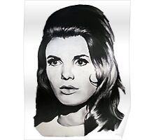 Katharine Ross The Graduate Chalk Drawing Poster