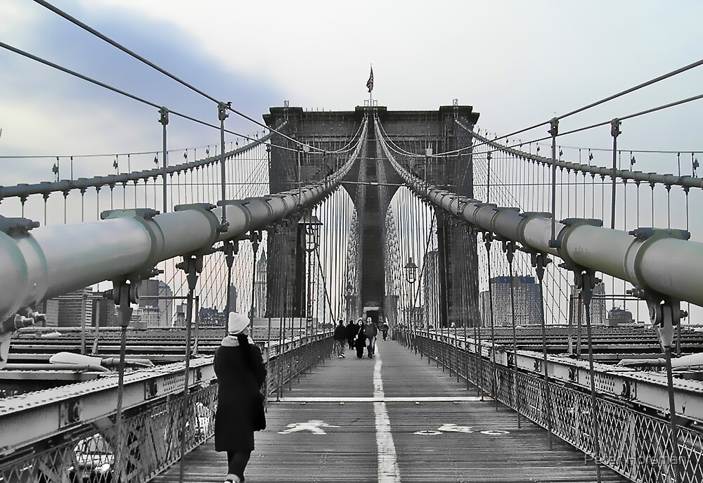 Brooklyn Bridge by Peter Horsman