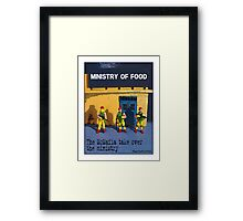 The McMafia take over the ministry! Framed Print