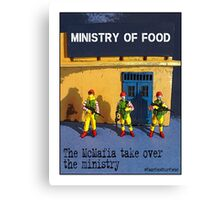 The McMafia take over the ministry! Canvas Print