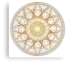God Angel Mandala Canvas Print
