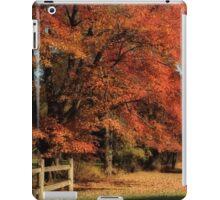Flame Trees iPad Case/Skin