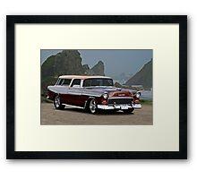 1955 Chevrolet Nomad Wagon Framed Print