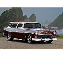1955 Chevrolet Nomad Wagon Photographic Print