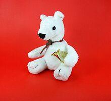 French Horn Bear by Janet Rymal