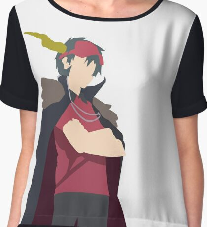 The Devil is a Part Timer! Satan Chiffon Top