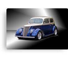 1937 Ford Tudor Sedan Canvas Print