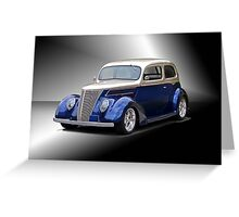 1937 Ford Tudor Sedan Greeting Card