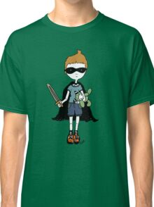 Boy with sword Classic T-Shirt