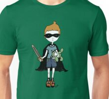 Boy with sword Unisex T-Shirt