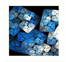Fractal Blocks Art Print