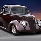1937 Ford Coupe 2 by DaveKoontz
