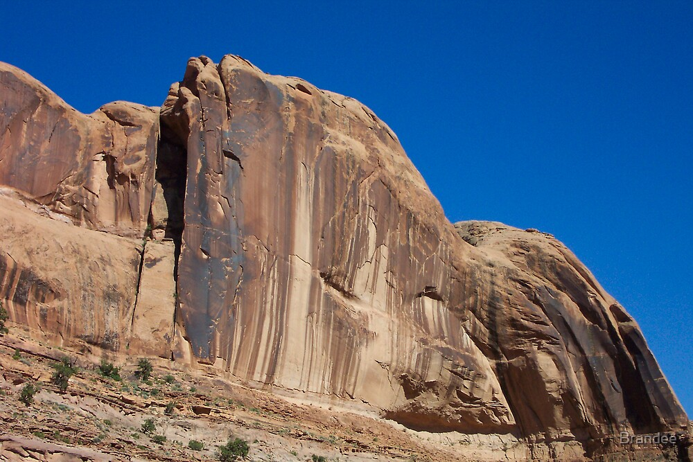 Mountains in Moab by Brandee