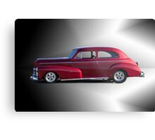 1946 Chevrolet 'Stylemaster' Sedan Metal Print