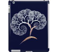 cherry blossom fractal tree iPad Case/Skin