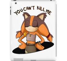 (Sonic Boom) Sticks the Badger - You Can't Kill Me iPad Case/Skin