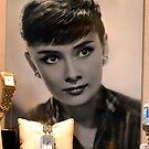 Audrey Hepburn by Bob Martin