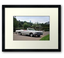 1966 Buick Gran Sport Convertible 2 Framed Print