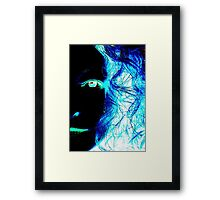 Saturnine Framed Print
