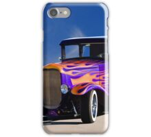 1930 Ford Model A Coupe 'Old School' iPhone Case/Skin