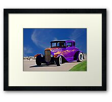 1930 Ford Model A Coupe 'Old School' Framed Print