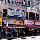 Canal Street, New York by Cardet