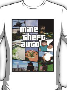 Mine Theft Auto - Grand Theft Auto x Minecraft T-Shirt