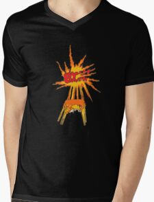 COMIC BOOK ART CHAIR (Graffiti) Mens V-Neck T-Shirt