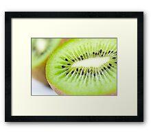Kiwi Guts Framed Print